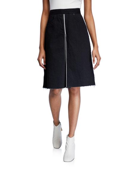 Nobody Denim Selvedge Denim Skirt