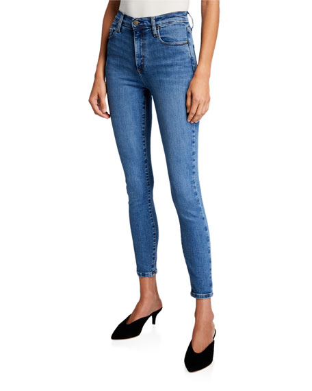 Nobody Denim Cult High-Rise Ankle Skinny Jeans