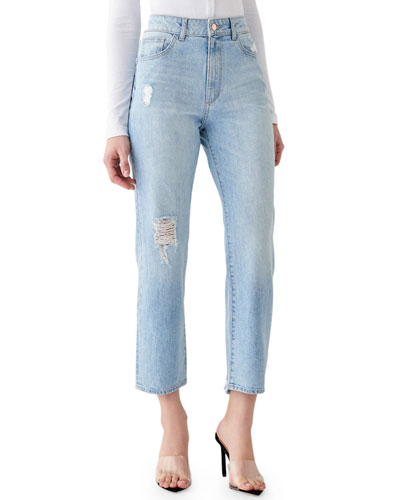Jerry High-Rise Vintage Straight Jeans