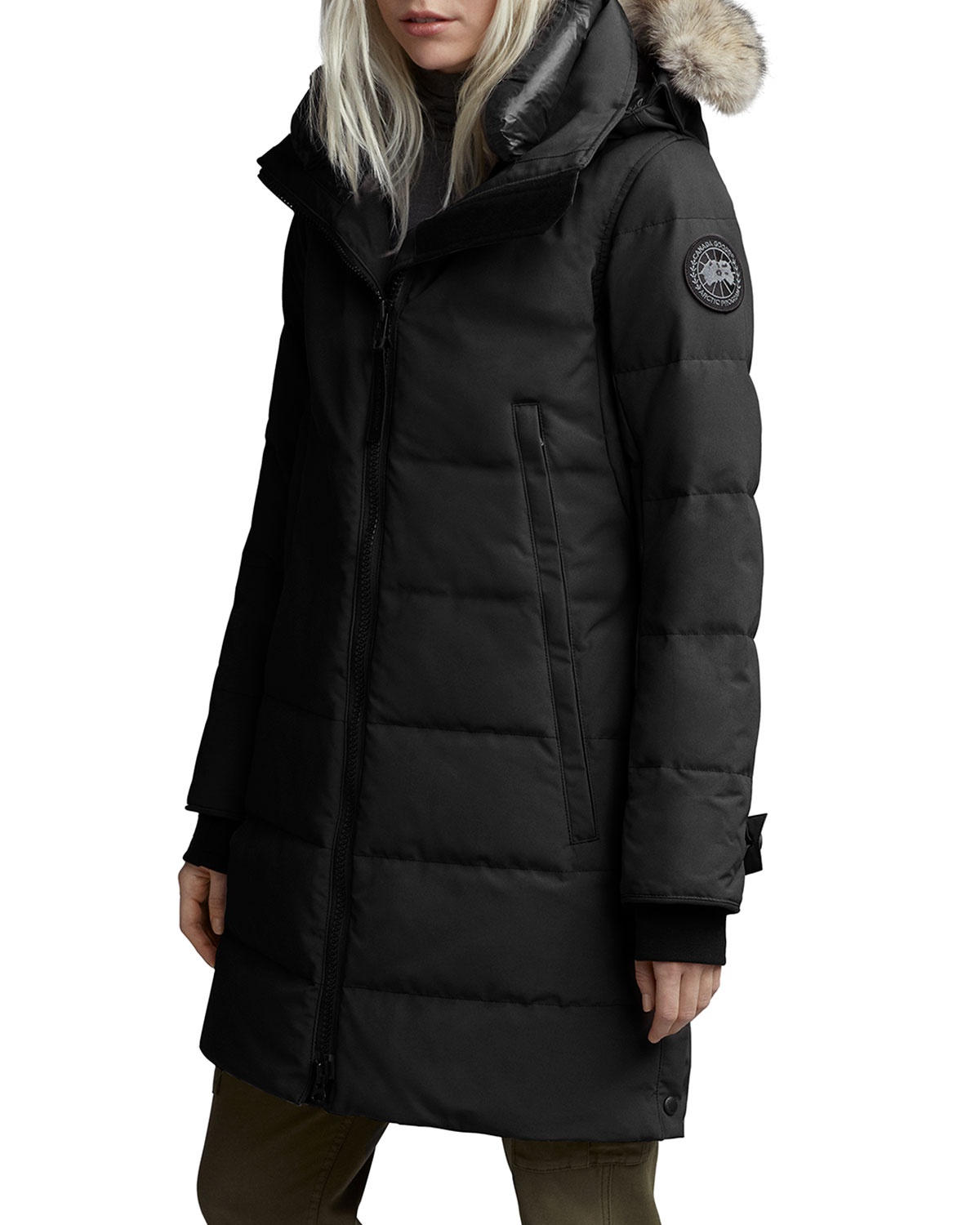 Canada Goose Tops KENTON FUR-TRIM HOODED PARKA
