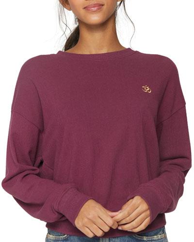 Om Malibu Crewneck Sweatshirt
