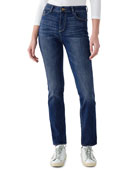 DL1961 Premium Denim Mara High-Rise Straight Jeans