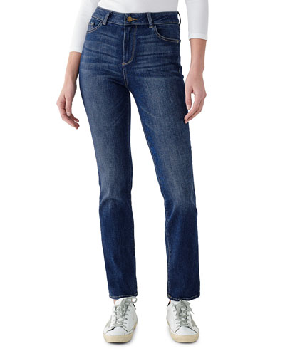 Mara High-Rise Straight Jeans