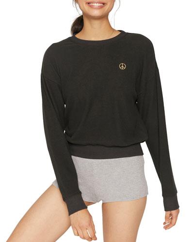 Peace Malibu Crewneck Sweatshirt