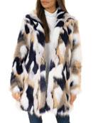 Fabulous Furs VIP Faux-Fur Stroller Coat - Inclusive