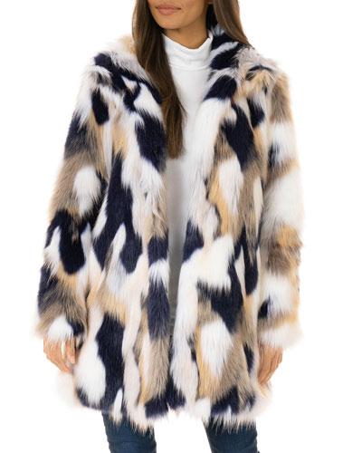VIP Faux-Fur Stroller Coat - Inclusive Sizing