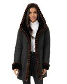 Fabulous Furs Faux-Fur Trimmed Storm Coat - Inclusive