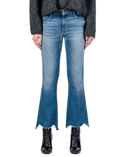Chrissy Kick Flare Vintage Rehab Jeans