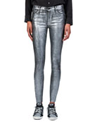 Black Orchid Noah Mid-Rise Ankle Fray Jeans with