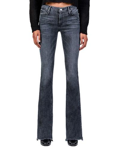 Mia Mid Rise Skinny Flare Jeans