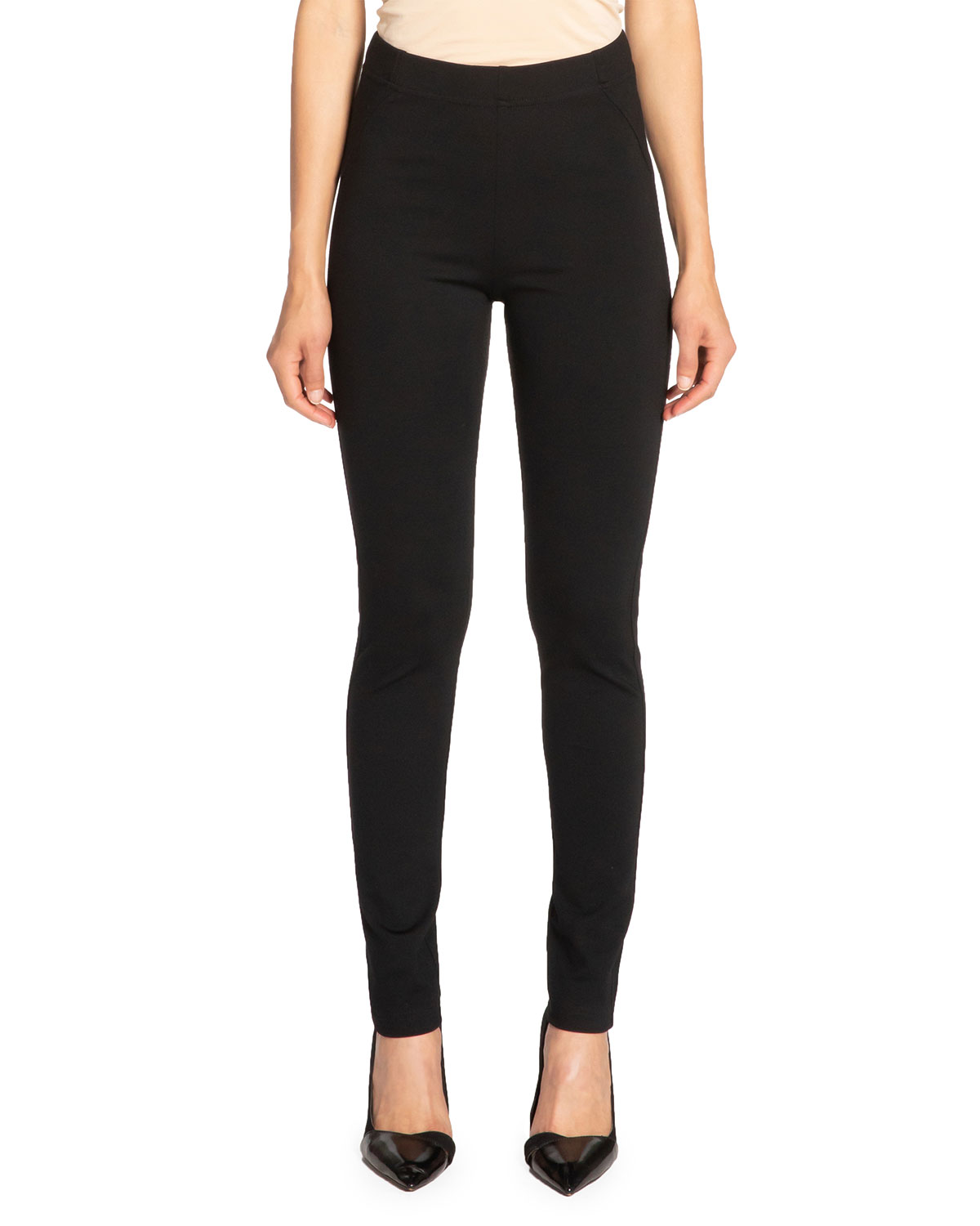 Dawn Double Jersey Legging Pant with Seam Details