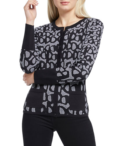Delightful Button-Front Cardigan