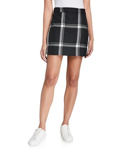 Prepster Check Modern Mini Skirt