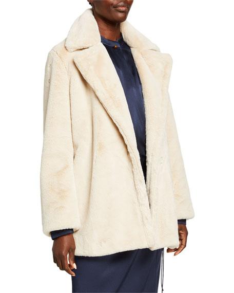 Vince Belted Plush Coat