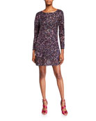 Parker Exeter Beaded Cocktail Dress