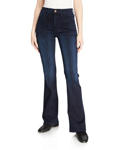 The Slant Drama Boot-Cut Jeans