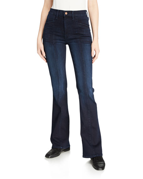 MOTHER The Slant Drama Boot-Cut Jeans