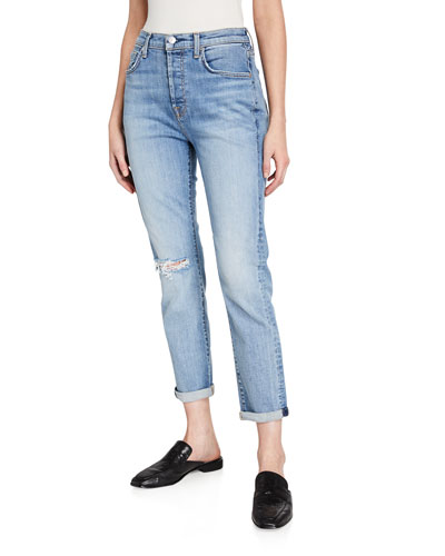 Josefina High-Rise Distressed Jeans