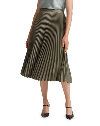 Annina Pleated Midi Skirt