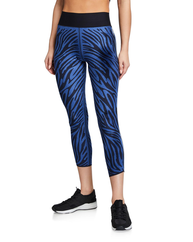 Ultra High Velvet Zebra Leggings