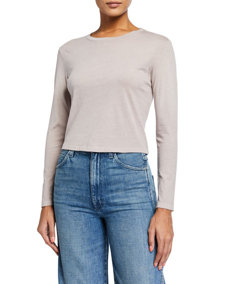 AMO Denim Babe Long-Sleeve Tee