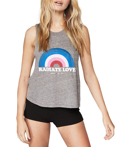 Radiate Love Cropped Tank