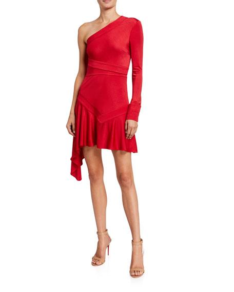 Alexis Gaja Asymmetric Dress