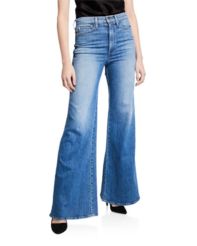 Gorgeous High-Rise Wide-Leg Jeans