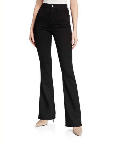 Modern 'A' Pocket Wide-Leg Jeans