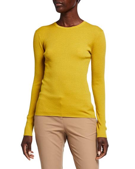 Theory Mirzi Regal Wool Rib Sweater