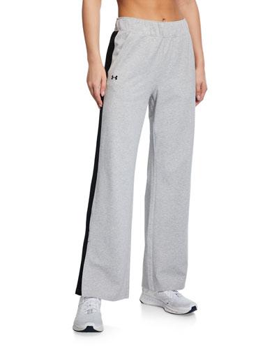 Favorite Open Hem Side Slit Pants