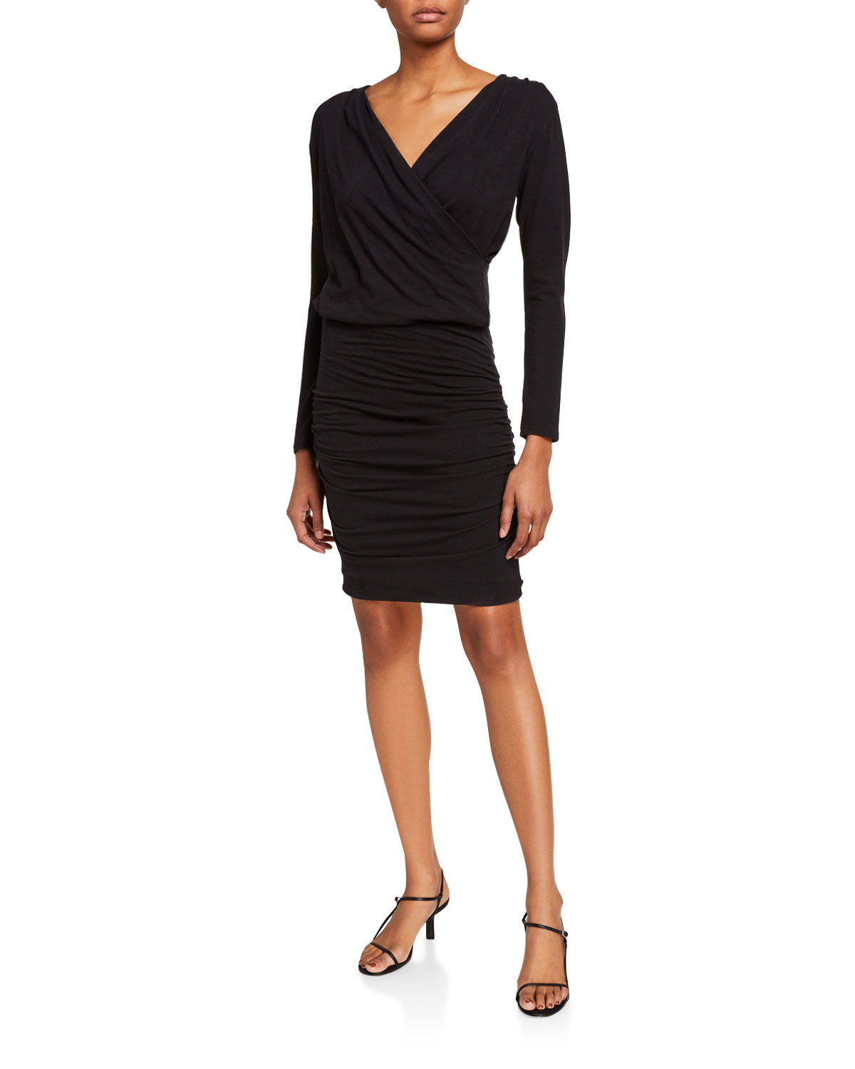 Sundry ruched jersey dress. Approx. 39\