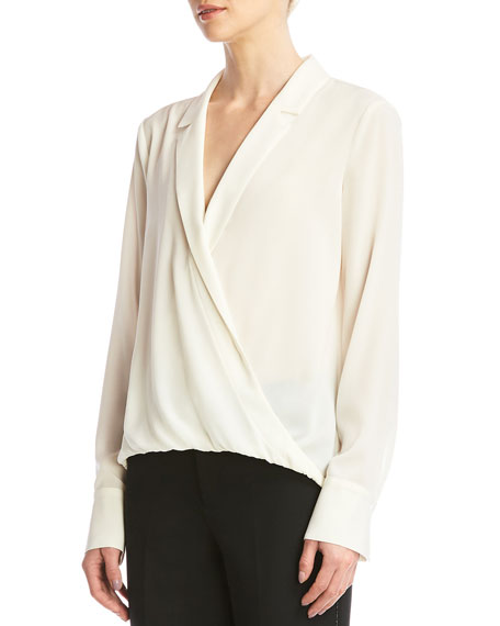 Bailey 44 Sloane Wrap-Front Top