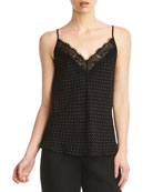 Bailey 44 Kate Polka Dot Lace Trim Camisole