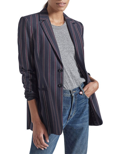 The Taxi Line Striped Blazer