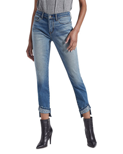 The Turnt Ankle Skinny Stiletto Jeans