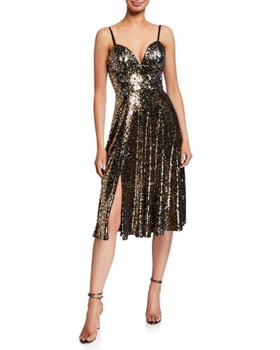 Mimi Sequin Slip Dress