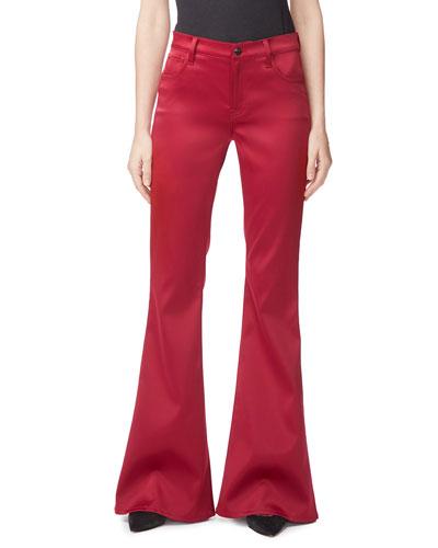 Valentina High-Rise Flare Pants
