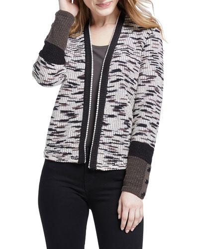 Plus Size Perks Colorblock Cardigan
