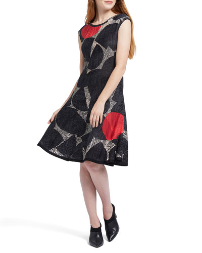 Be Bold Printed Sleeveless Dress