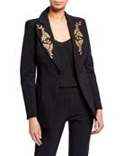 Chiara Boni La Petite Robe Alex One-Button Jacket