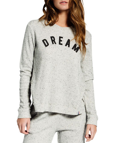 Speckled Thermal Dream Pullover Top