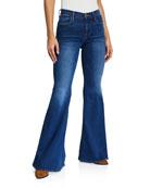 FRAME Le High Super Flare Jeans