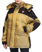 66 North Tindur Baffled-Box Down Coat w/ Detachable