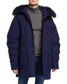 66 North Drangajokull Fox Fur-Hooded Down Parka