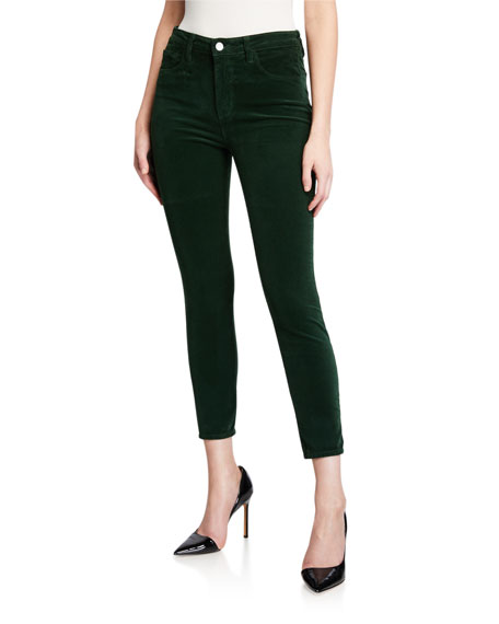 L'Agence Margot Corduroy High Rise Skinny Pants