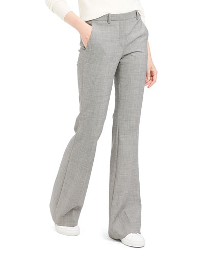 Demitria Wool Flared Pants