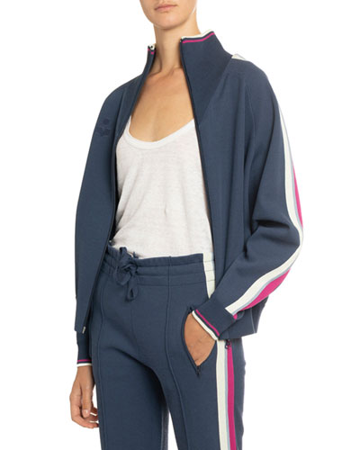 Darcey Cotton Track Jacket