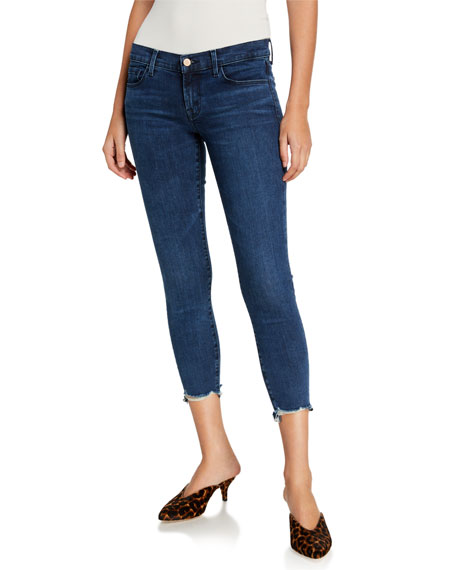 J Brand 9326 Low-Rise Cropped Skinny