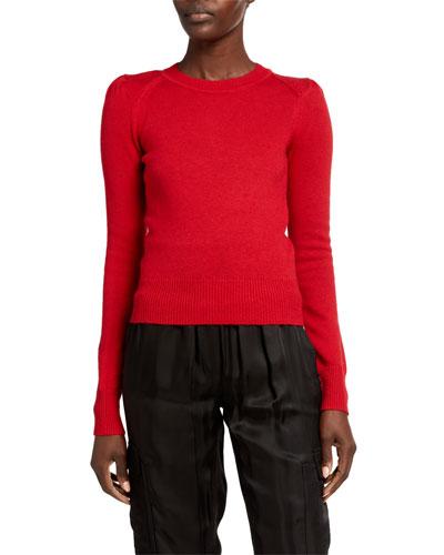 Kleely Cotton-Wool Crewneck Sweater